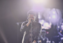 Picture of effect filter vintage,Blurred Male singer singing on stage. (leykladay) Tags: abstract art artist blur blurred concert filter light listen love male man microphone romance romantic sadness singing single stage vintage