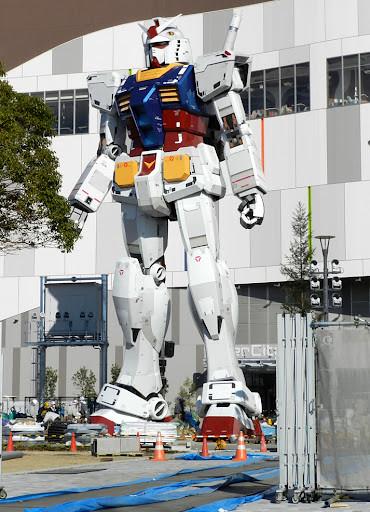 2012年鋼彈大佛重返東京台場