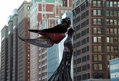 """Daphne"" sculpture by Dessa Kirk (ihynz7) Tags: sculpture chicago grantpark daphne dessakirk"