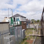 Newsham South Signal Box and MCB Level Crossing