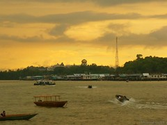 Sunset view @waterfront BSB 6 (khairulsadek) Tags: waterfront bandarseribegawan bruneidarussalam sunsetkampongayerscenery