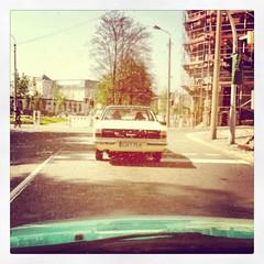 Ford fhrt fort... (C MB 166) Tags: auto ford car germany deutschland saxony tags sachsen taunus chemnitz schlossteich instagram samsunggalaxynexus