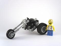 Outlaw Trike (_zenn) Tags: lego motorcycle trike outlaw moc zenn