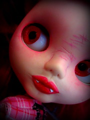 IMG_6095-001 (shepuppy) Tags: pink dead punk vampire blythe ghoul