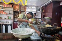 India1451.jpg (sidetrekked) Tags: travel people food india kitchen bread restaurant interiors cook worker darjeeling westbengal bhatura batura batoora bhatoora