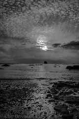 Olympic North beach-516.jpg (chipg1) Tags: sunset blackandwhite beach clouds washington lowtide olympicnationalpark shipwreckcoast