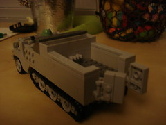 lego world war 2 (carpenter dylan) Tags: germanhalftrack legohalftrack