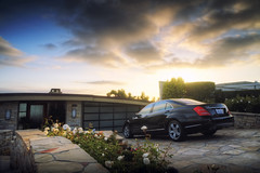 Dream Driveway (neosmultimedia.com) Tags: ocean california sunset sun house clouds for mercedes drive pacific dream s newportbeach driveway mercedesbenz orangecounty oc coronadelmar themes iphone oceanfront s550 neosdesign
