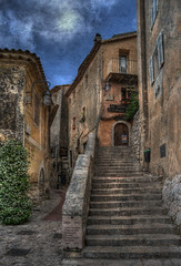 Eze Stairs (BarneyF) Tags: 3 france texture stairs nice côte medieval eze hdr exp dazur