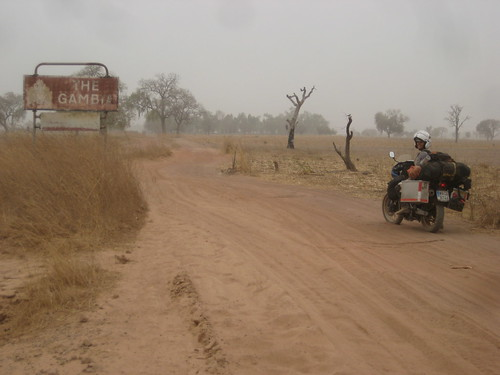 Border Crossing to Gambia