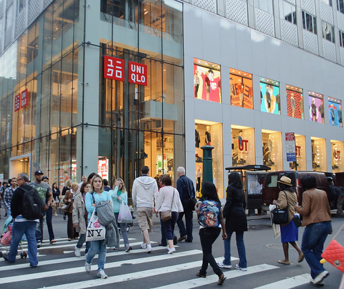 Uniqlo Global Flagship Store ユニクロ