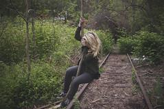 swing life away (Christopher Mongeau) Tags: railroad bridge abandoned train woods providence rhodeisland eastside kenzie foxpoint