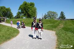 IMG_0235 (Naturally in Niagara) Tags: old war fort battle soldiers british erie reenactment bicentennial culloden 1812