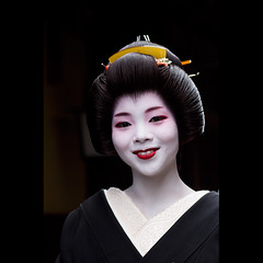(Masahiro Makino) Tags: japan photoshop canon eos kyoto adobe    gion congratulations tamron 90mm f28 lightroom erikae gionkobu 60d  ichiwaka      20120524132330canoneos60dls640p