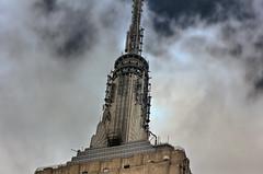 Empire State Building (Alejandro Ortiz III) Tags: 60d alejandroortiziii alex alexortiz allrightsreserved brooklyn canon canonefs181355mmf3556is canoneos digital eos empirestatebuilding hdr highdynamicrange lightroom lightroom3 newjersey newyork newyorkcity photomatixpro3 rahway shbnggrth sky skyscraper ©2012alejandroortiziii ©2012alejandroortiziii