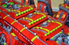 Dorsal Missiles (Doctor Mobius) Tags: lego atlantis scorpion mecha mech moc battlebug battlebugs