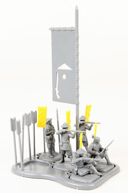 新蒐藏線!1/72比例戰國武者系列
