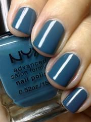 trout, nyx (nails@mands) Tags: blue nail nagellack polish bleu nails trout nailpolish unhas nyx lacquer vernis esmalte smalto naillacquer verniz azulpetróleo nyxsalon salonformula