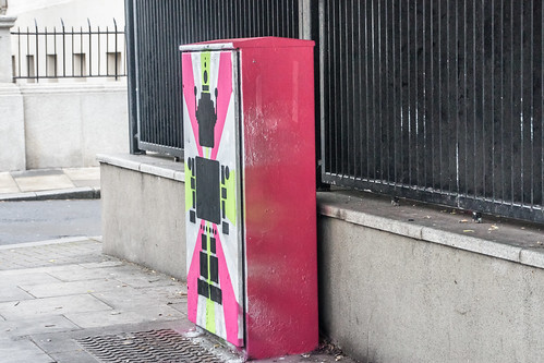 Street Art And Traffic Lights - Work In Progress (Anna Doran)