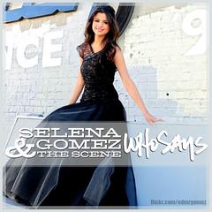 Selena Gomez & The Scene - Who Says (Mr.Gomez!) Tags: graphics thescene cdcovers whenthesungoesdown selenagomez