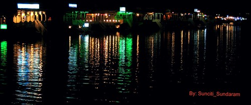Night Scene, Dal Lake, Sri Nagar