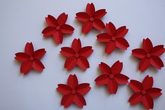 Origami création - Didier Boursin - Fleurs de cerisier
