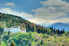 Granada - Generalife - Sierra Nevada (Ventura Carmona) Tags: espaa andaluca spain alhambra granada sierranevada spanien generalife venturacarmona