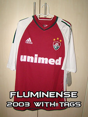 Fluminense 2003 #11# Grená with tags/com etiqueta