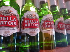 Stella (MacGuffin56) Tags: red green beer bottles stellaartois