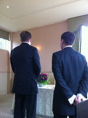 Awaiting the bride