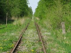 2012-050441 (bubbahop) Tags: railroad abandoned ruins thirdreich nazis wwii tracks poland worldwarii wolfs hitlers worldwar2 2012 lair hqs bunkers okh ketrzyn wolfsschanze mamerki kętrzyn mauerwald europetrip25