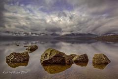 Milarrochy Rocks (5) (Shuggie!!) Tags: longexposure water clouds reflections skyscape landscape scotland rocks hills trossachs hdr lochlomond zenfolio mistandfog milarrochy