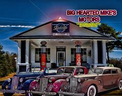 Big Hearted Mike's Motors (crimsontideguy) Tags: auto cars vintage alabama rides autos classiccars vintagecars packard vintageautos servicestations packardautomobiles