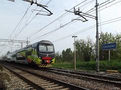 LINEA S6 TRENORD (Bruno Vigan) Tags: italy train italia railway s stazione treno dei linea treni dadda cassano trenord