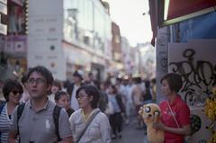 Takeshita Street (Harajuku, Tokyo) (xperiane (Extremely busy)) Tags: film japan tokyo fuji harajuku   filmphotography pentaxlx superiaxtra400  smca50mmf14