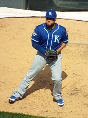 DSCF7625 (dishfunctional) Tags: white chicago field us baseball sox cellular kelvin mlb royals herrera