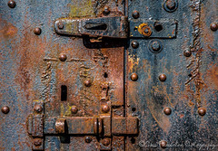 Fort Stevens, OR (Chris Parmeter Photography (smokinman88)) Tags: door old abstract texture architecture geotagged nikon rust iron fort lock decay stevens cast d810