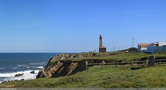 Penedo da Saudade - Panorama (Joo Clrigo) Tags: lighthouse praia beach farol penedodasaudade sopedrodemoel