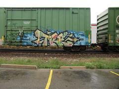 09-01-10 (4) (This Guy...) Tags: road railroad car train graffiti box graf rail rr traincar boxcar graff 2010