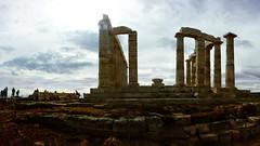 Poseidon temple at cape Sounion (Gael Varoquaux) Tags: temple greece ancientgreece