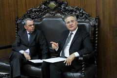 Presidncia do Senado (Senado Federal) Tags: braslia brasil df bra visita presidncia senadorrenancalheirospmdbal miguelcanado