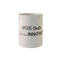 hipster:yuccie mug (rethinkthingsltd) Tags: design hipster parry statement mug create typographic ilsa innovate rethinkthings yuccie
