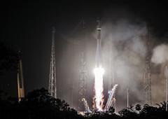 Galileo 13 & 14 liftoff (europeanspaceagency) Tags: 14 liftoff launch 13 navigation satellites esa galileo satnav cnes arianespace