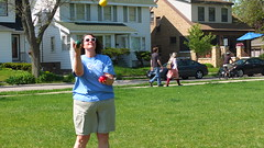 (sfrikken) Tags: park lake ball place madison juggle croquet monona torey yahara