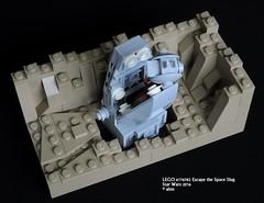 Star Wars LEGO 6176782 Escape the Space Slug (KatanaZ) Tags: starwars lego promotional exclusive maythefourth lego6176782 escapethespaceslug