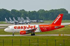G-EZIW (Michał Stolarski) Tags: airplane airport poland polska airbus kraków easyjet krk lotnisko balice a319111 geziw