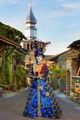 Yvoire (cedric.chiodini) Tags: canon costume flash carnaval masque profoto yvoire canon5dmkiii