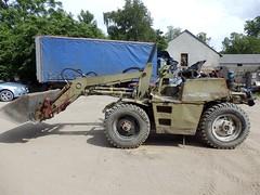 Fortschritt HT 140 (Vehicle Tim) Tags: machinery ddr oldtimer bau fahrzeug lader veb fortschritt baumaschine ht140