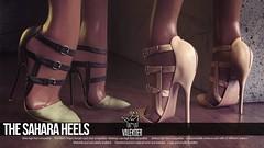 [VALE KOER] SAHARA HEELS (VALE KOER) Tags: life mesh vale sl second heels uber vk koer