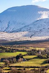 Snow Capped Galtee Mountains (PIERRE LECLERC PHOTO) Tags: ireland winter irish green church landscape village snowcappedmountains galteemountains pierreleclercphotography galttes